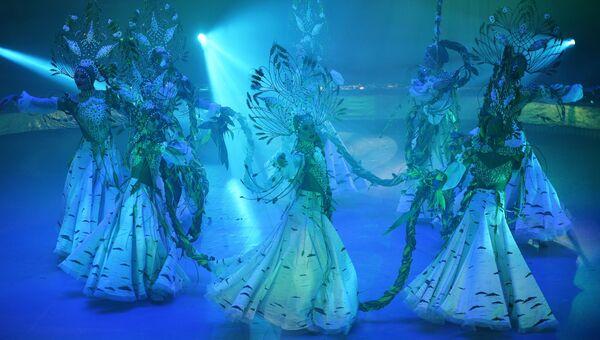 Шоу победителей фестиваля циркового искусства Идол. Архивное фото