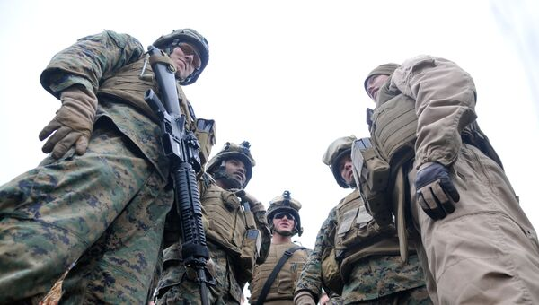 Солдаты армии США. Архивное фото