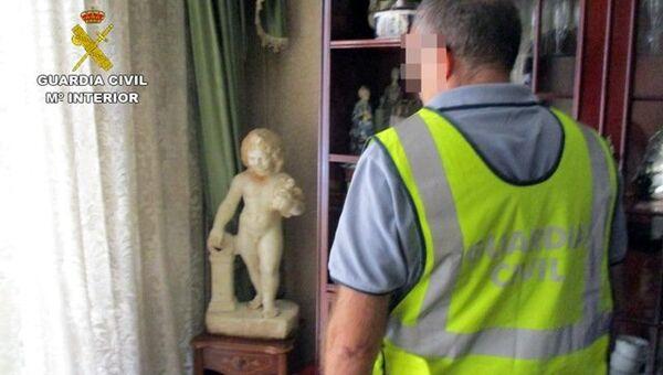 Изъятые из частных домов Испании статуи времен Римской империи