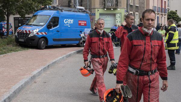 Пожарные во Франции. Архивное фото