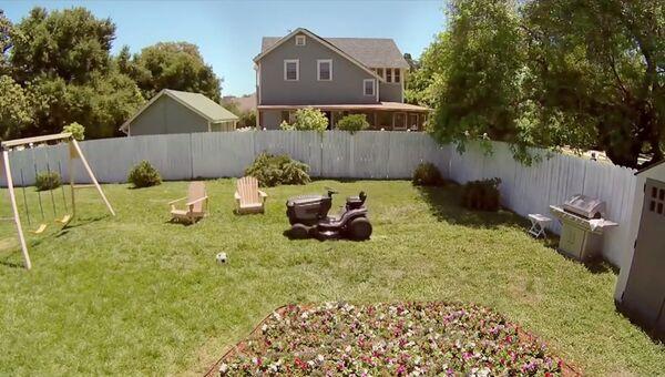 Сбежавшая газонокосилка