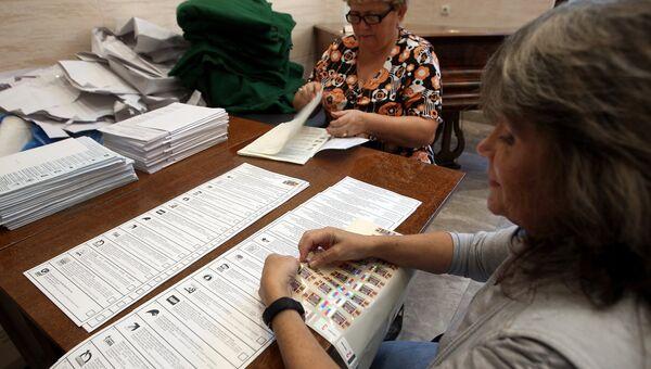 Подготовка избирательных участков к выборам
