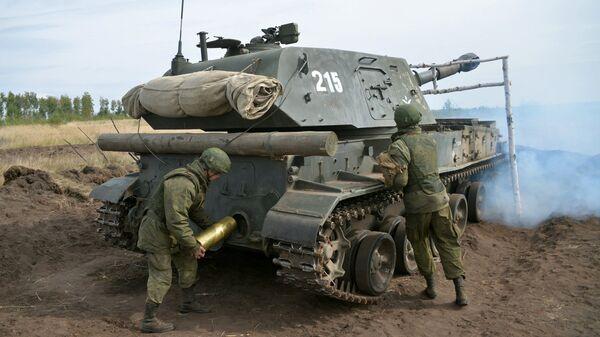 Самоходные гаубицы калибра 152 мм