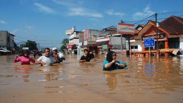Наводнение на острове Ява. Архивное фото