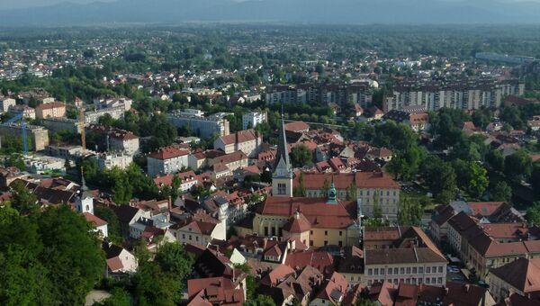 Города мира. Любляна. Архивное фото