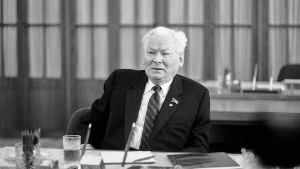 Генеральный секретарь ЦК КПСС Константин Устинович Черненко
