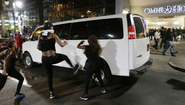 Беспорядки в городе Шарлотт, Северная Каролина. Архивное фото