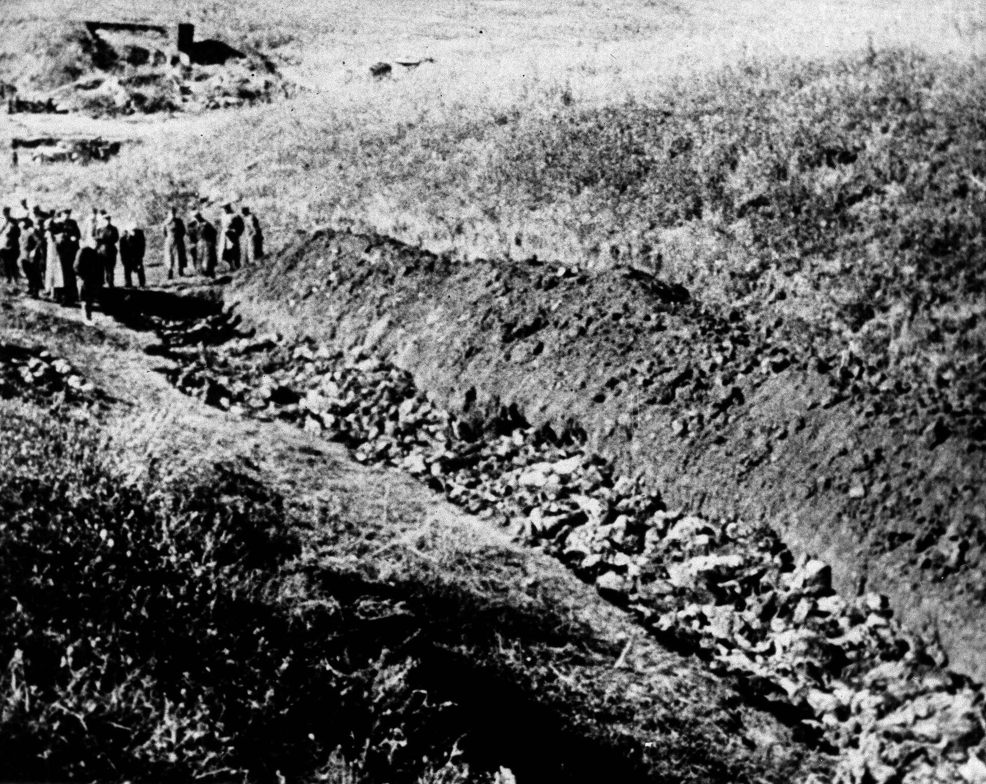 Бабий Яр. 1944 год  - РИА Новости, 1920, 10.03.2021