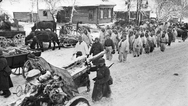Разгром немецко-фашистских войск под Москвой. 1941 год