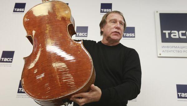 Художественный руководитель Санкт-Петербургского Дома музыки Сергей Ролдугин. Архивное фото
