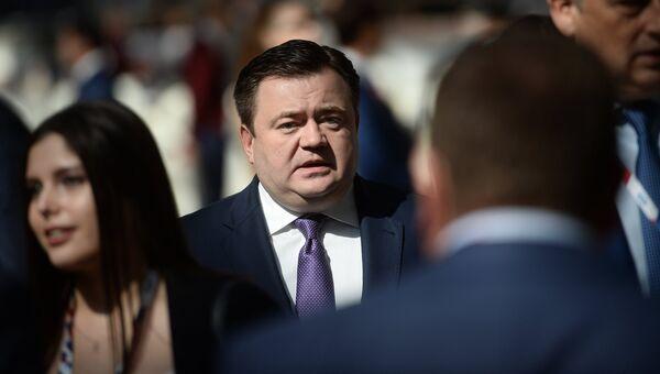 Генеральный директор АО Российский экспортный центр Петр Фрадков на международном инвестиционном форуме Сочи 2016