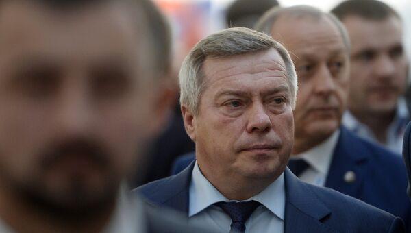 Губернатор Ростовской области Василий Голубев на международном инвестиционном форуме Сочи 2016