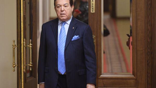 Депутат Государственной Думы РФ Иосиф Кобзон. Архивное фото