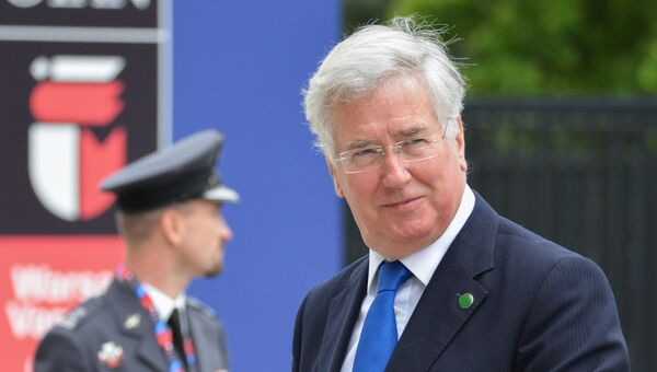 Министр обороны Великобритании Майкл Фэллон. Архивное фото