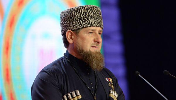 Избранный глава Чеченской Республики Рамзан Кадыров. Архивное фото