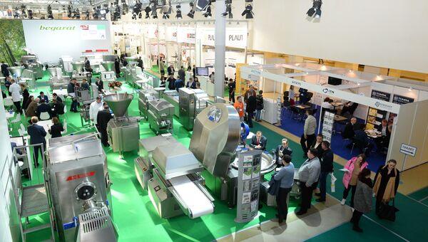 Выставка оборудования, машин и ингредиентов для пищевой и перерабатывающей промышленности Агропродмаш-2016 в Экспоцентре на Красной Пресне