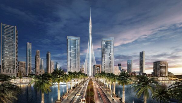 Проект башни The Tower в Дубае, которая будет самым высоким сооружением в мире