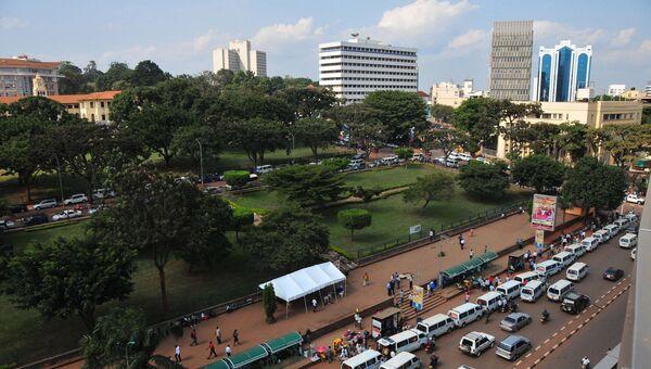 Столица Уганды город Кампала. Архивное фото