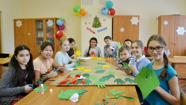 Акция Классные елки в школах Москвы