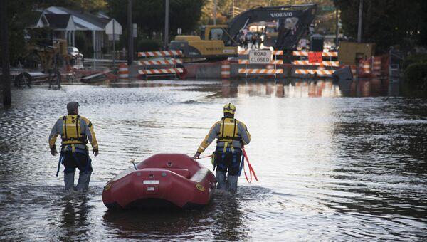 Последствия урагана Мэтью в Северной Каролине
