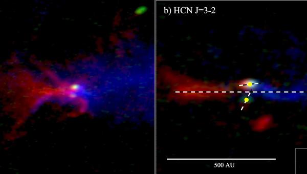 Три протопланетных диска у звезды IRS 43