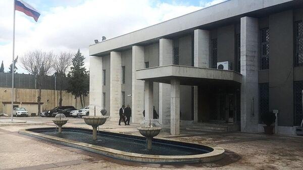 Здание посольства РФ в Дамаске. Архивное фото