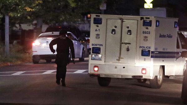 Полиция и скорая помощь США Архивное фото