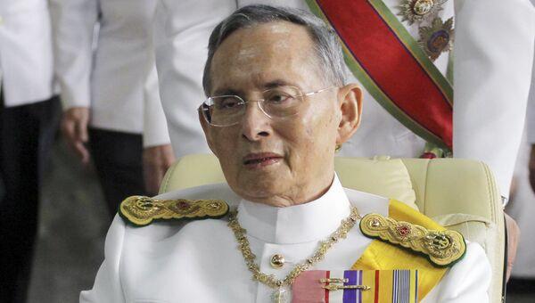 Король Таиланда Пхумипхон Адулъядет. Архивное фото