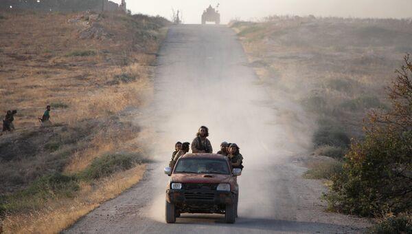 Боевики за группировки Джунуд аль-Акса. Архивное фото