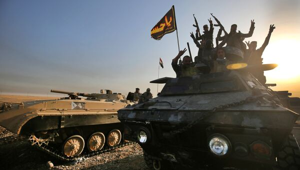 Наступление правительственных сил на Мосул в Ираке