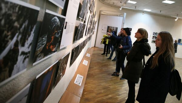 Выставка победителей конкурса имени Стенина. Архивное фото