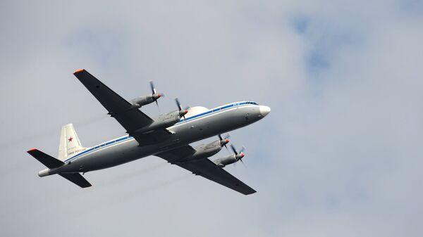 Авиалайнер Ил-18 ВМФ РФ. Архивное фото