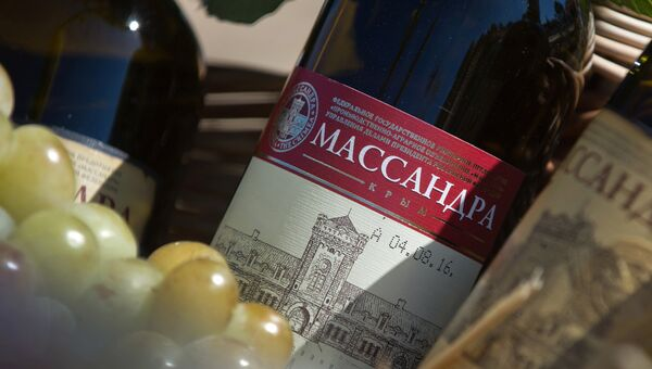 Крымские вина. Архивное фото