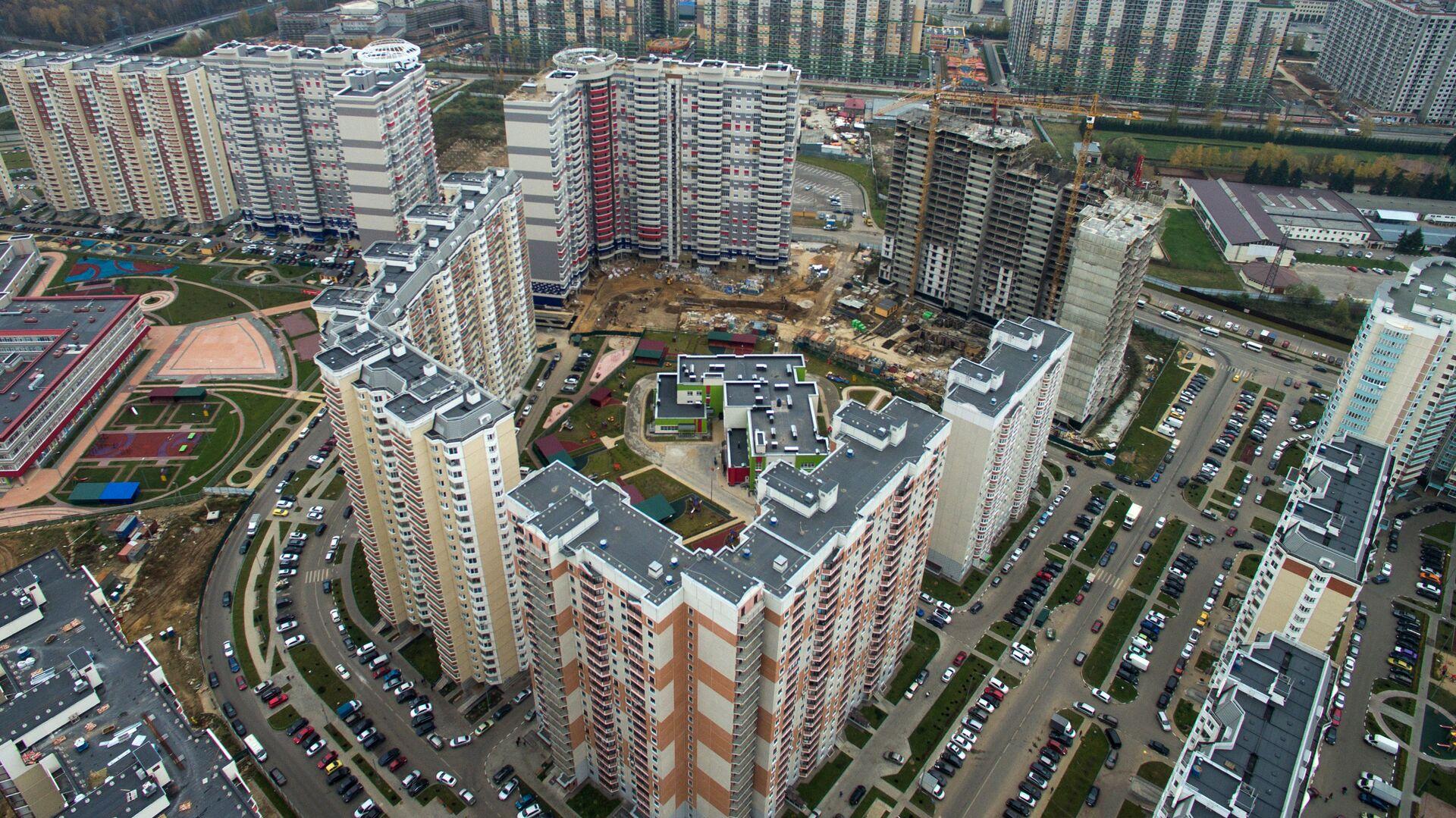 Строительство новых жилых кварталов в Подмосковье - РИА Новости, 1920, 03.06.2021