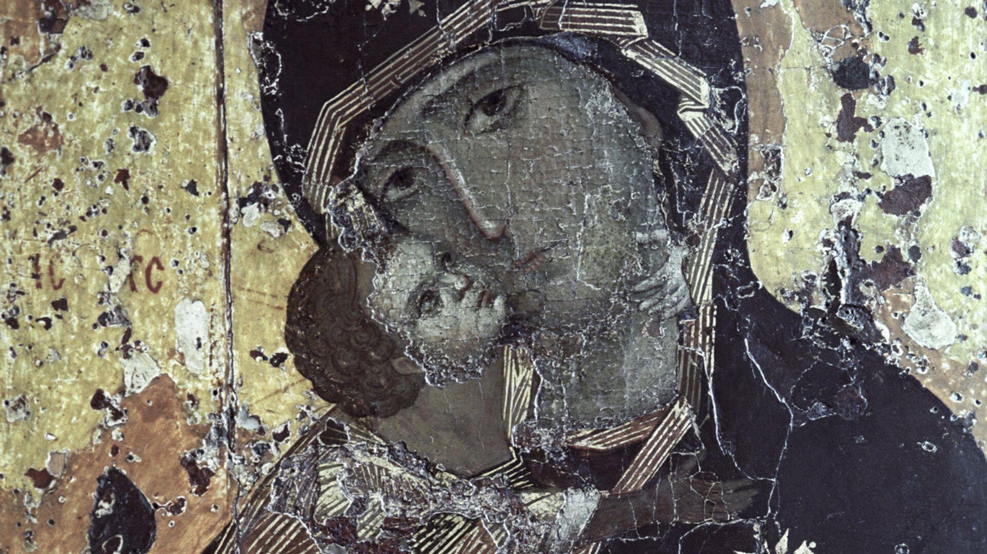 Икона Владимирской Богоматери - РИА Новости, 1920, 06.07.2021
