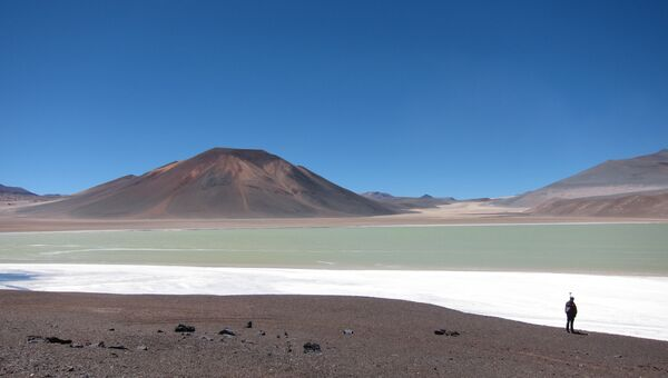 Плато Альтиплано в центральной Южной Америке, под которым находится гигантский резервуар магмы