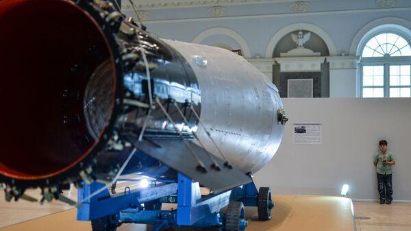 Копия водородной Царь-бомбы АН602