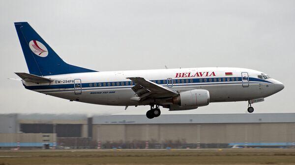 Самолет Boeing 737-500 авиакомпании Белавиа