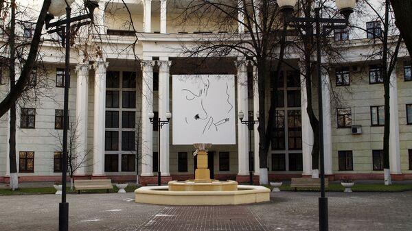 Здание киностудии имени Горького в Москве