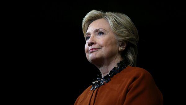 Кандидат в президенты США от Демократической партии Хиллари Клинтон. 27 октября 2016 года