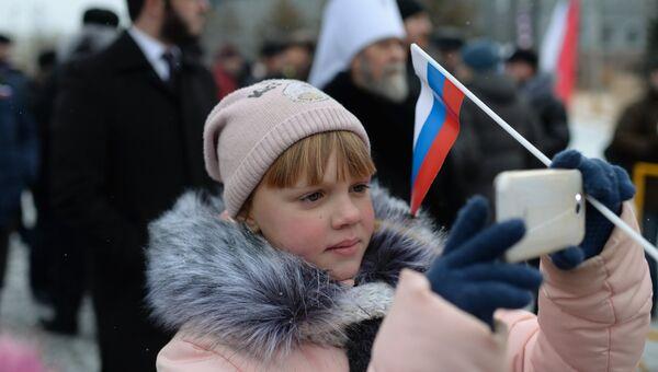 Центром празднования Дня народного единства в Омске стала Соборная площадь, где жителей города ждала традиционная осенняя ярмарка и другие развлекательные мероприятия.