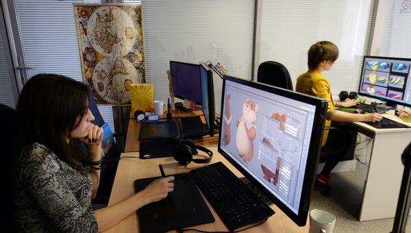 Студия мультипликационных фильмов Wizart Animation. Архивное фото
