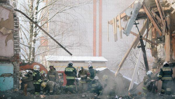 Последствия взрыва газа в жилом доме в Иваново. Архивное фото