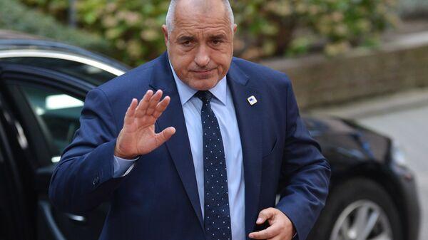 Премьер-министр Болгарии Бойко Борисов. 2016 год