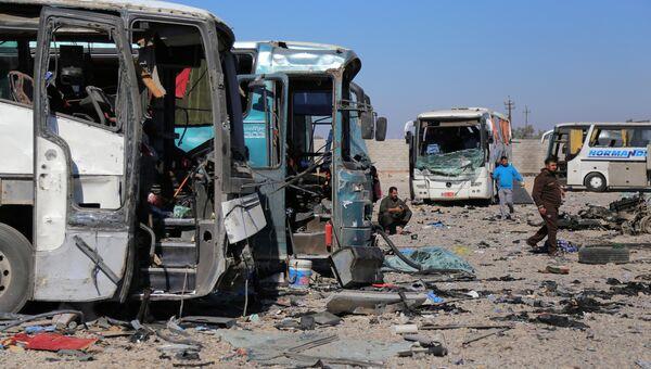 Место теракта в иракском городе Самарра. 6 ноября 2016