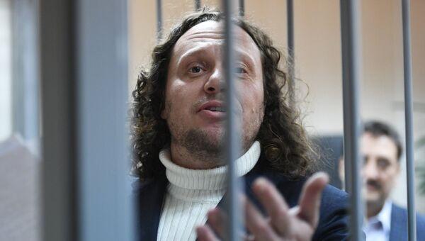 Бизнесмен Сергей Полонский на заседании в Пресненском суде города Москвы