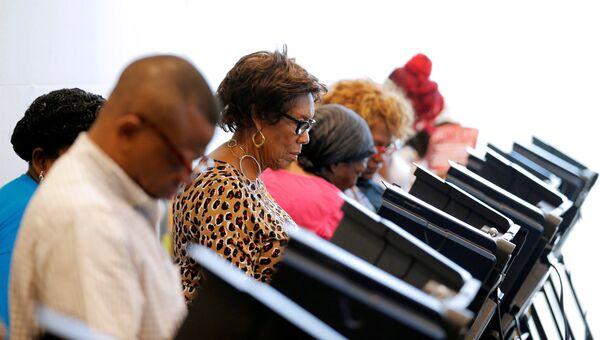 Досрочное голосование на выборах президента США в Северной Каролине