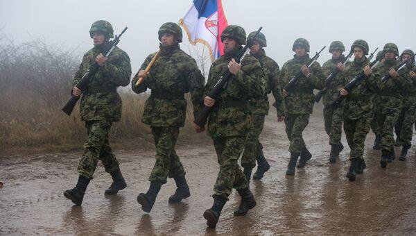Учения ВДВ России, Белоруссии и Сербии Славянское братство-2016 на полигоне в Сербии