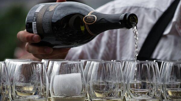 Открытие шампанерии Золотая Балка в Крыму