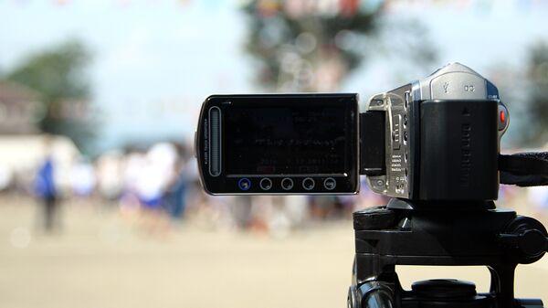 Видеокамера. Архивное фото